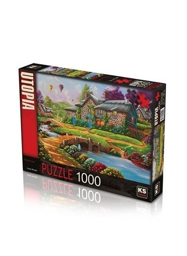 KS Puzzle KS Puzzle 20511 Dreamscape Temalı 1000 ParÇa Puzzle Renkli